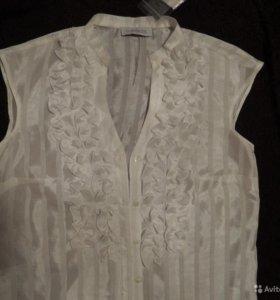 Женская блузка-безрукавка