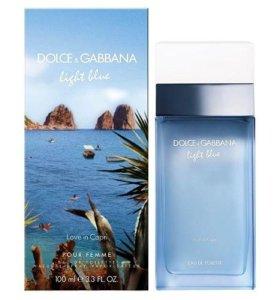 DOLCE&GABBANA LIGHT BLUE LOVE IN CAPRI. Духи