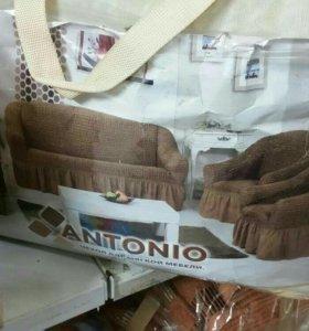 Чехол на любой диван. Новый. Доставка