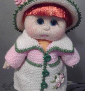 Авторская игровая кукла ручной работы - кукла ВИКА