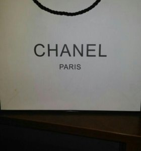 Пакет Chanel 18х18 см