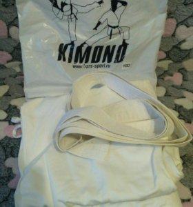 Новое кимоно для дзюдо