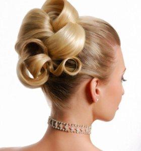 Причёски на свадьбу и на выпускной!