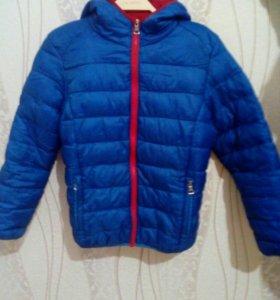 Куртка для мальчика 8 -10 лет демисезон