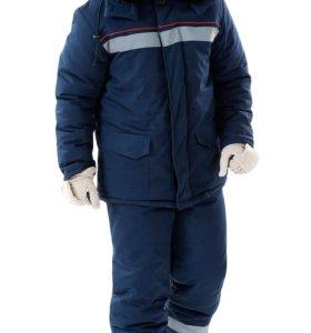 Рабочие зимние комплекты(штаны+куртка).НОВЫЕ.