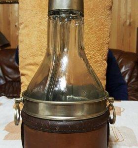 Старинная английская бутылка 1893 года