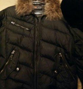 Куртка зимняя + шапка мужская