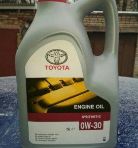 Моторное масло тойота