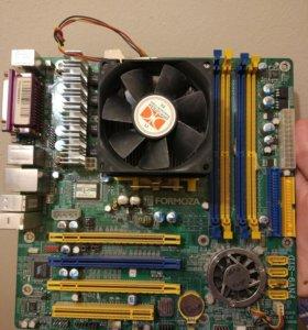 Материнская плата + процессор