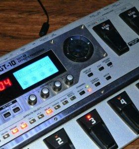 Гитарный процессор boss gt10