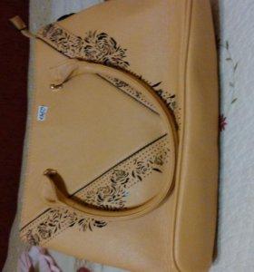 Новые сумки, эко кожа.