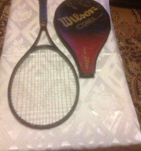 Ракетка для большого тенниса . Wilson cobra