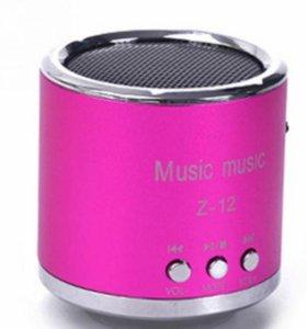 Мини колонка ,MP 3 плеер ,FM радио Z-12.