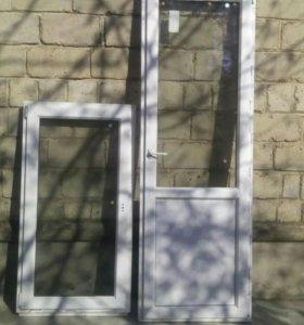 Окно+дверь(балконная)