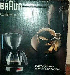 Кофемашина Braun CafeHouse Pure kf 550
