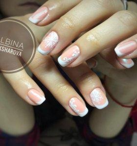 Shellac/Наращивание ногтей