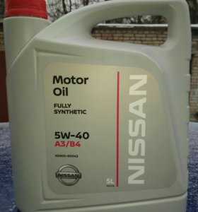 Моторное масло Nissan motor oil