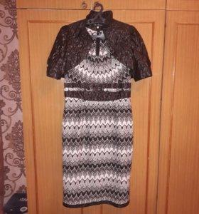 Платье вечернее+накидка(бесплатно)