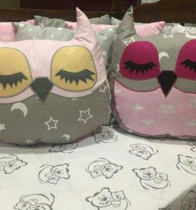 Подушки совушки