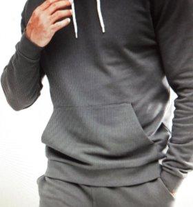 Черный выбеленный спортивный костюм ASOS