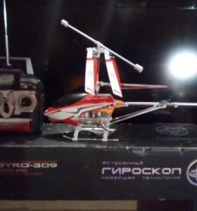 Вертолёт радио-управляемый.