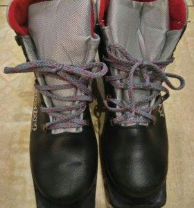 Лыжные ботинки 43рр