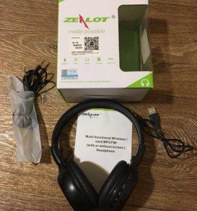 Наушники беспроводные с FM/sdCard/Bluetooth