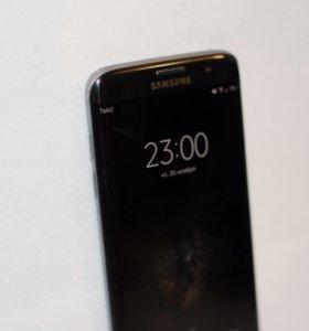 Samsung Galaxy S7 Edge black ростест оригинал