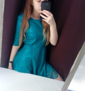 Новое платье, эко кожа