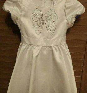 Новое! Нарядное платье для девочки рост 80
