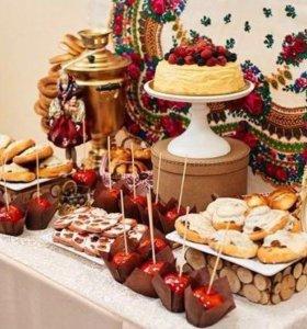 CANDY BAR!!! 🎂🍰торты, капкейки, сладкий стол