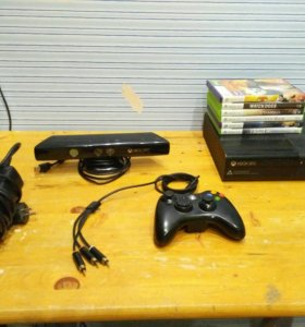 Xbox 360 256Gb + kinect + 30 игр