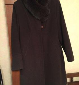 Зимнее пальто р. 52-54