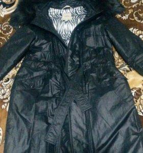 Пальто осень-зима 46 размера
