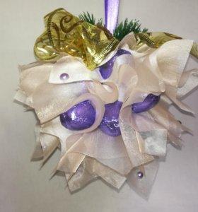 Сладкий новогодний шар