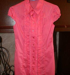 Рубашка удлиненная даром