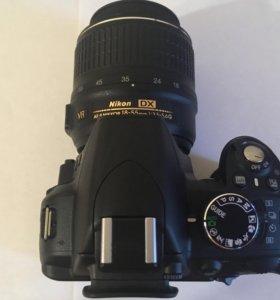 Фотоаппарат Nikon D3100 (зеркалка).