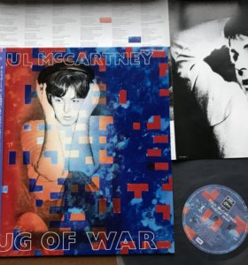 Lp Paul McCartney japan press 1982 года минт
