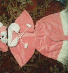Новогодние кастюм. Мышка