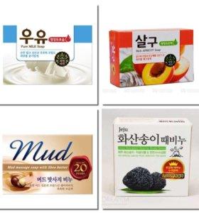 Мыло - скраб корейское в ассортименте