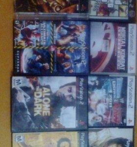 """Диски на """"PlayStation 2"""""""