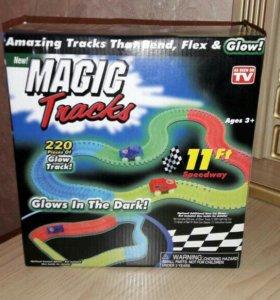 Волшебная дорога 220 деталей Magig tracks.