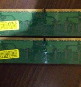 Память DDR2 2гига