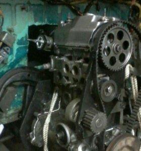 двигатель с коробкой от оки