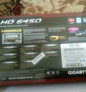 Видеокарта HD 6450