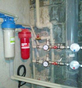 Водяной теплый пол, отопление, вода, канализация