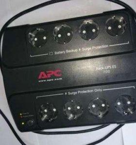 APC Back-UPS ES 700, 700VA 400W новый акб