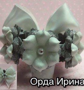 Гулька ,резиночки для принцесс