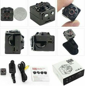 Мини-камера SQ8 (скрытая камера)