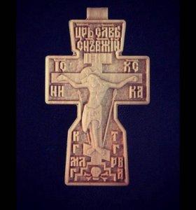 Православный резной крестик